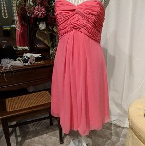 Coral Dress used